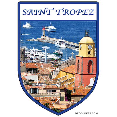 Sticker, Blason de SAINT TROPEZ