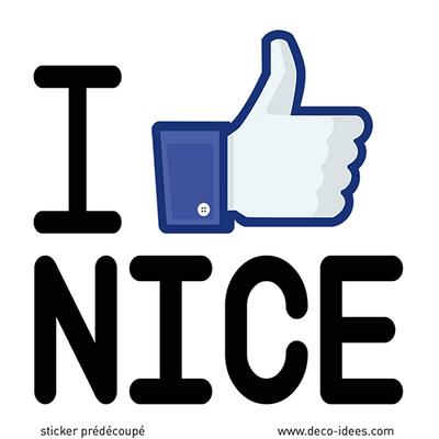 Sticker I LOVE NICE