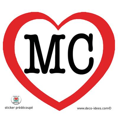 Sticker Le Coeur de MONACO