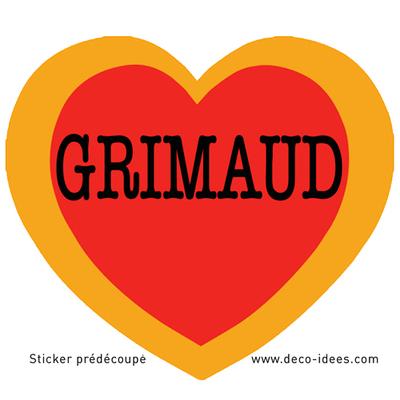 Sticker Le Coeur de GRIMAUD