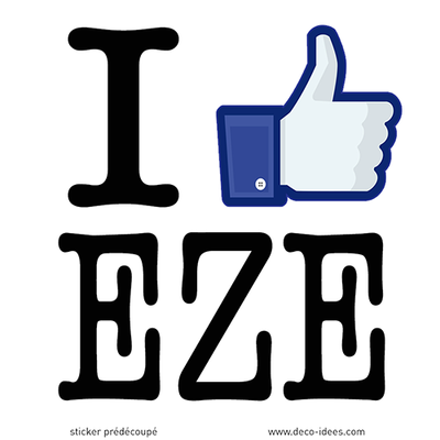Sticker I LIKE EZE