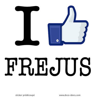 Sticker I LIKE FREJUS