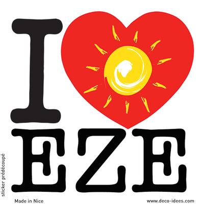 Sticker I LOVE le soleil de EZE