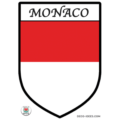 Sticker blason de ville MONACO