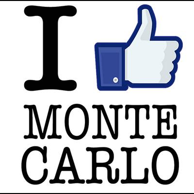 Sticker I LIKE MONTE CARLO