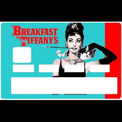 Sticker pour carte bancaire, Audrey Hepburn