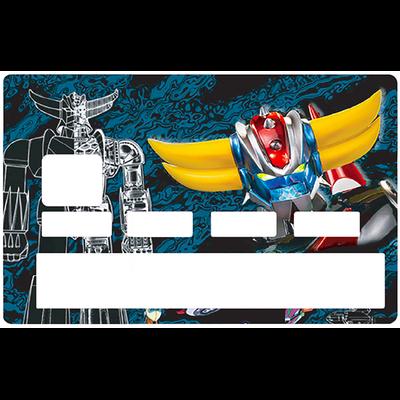 Sticker pour carte bancaire, Tribute to GOLDORACK