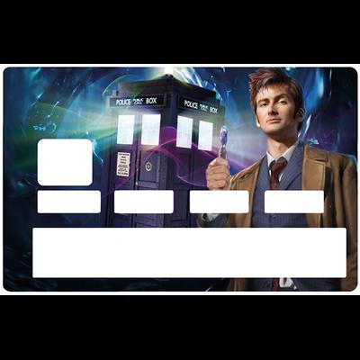 Sticker pour carte bancaire, lhommage au Docteur WHO