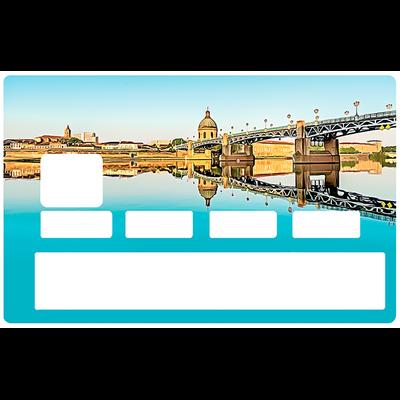 Sticker pour carte bancaire, Toulouse