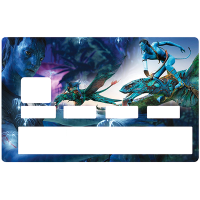 Sticker pour carte bancaire, Tribute to AVATAR