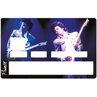 Sticker pour carte bancaire, Tribute to Prince