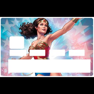 Sticker pour carte bancaire, hommage à Wonder Woman NTM