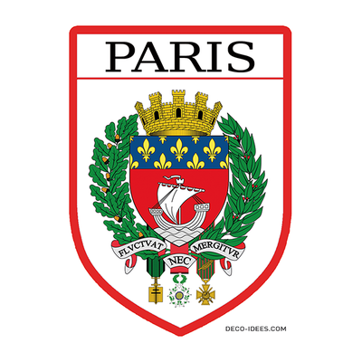 Sticker, Blason de PARIS