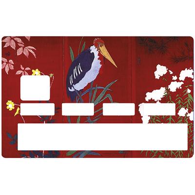 Sticker pour carte bancaire, L'oiseau de PIERRE BONNARD