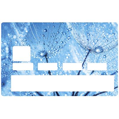 Sticker pour carte bancaire, Fleur de givre