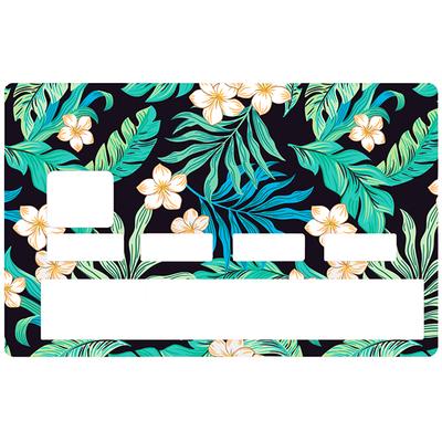 Sticker pour carte bancaire, Forêt tropicale