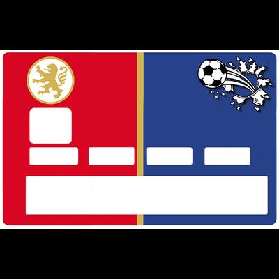 Sticker pour carte bancaire, Football, Lyon