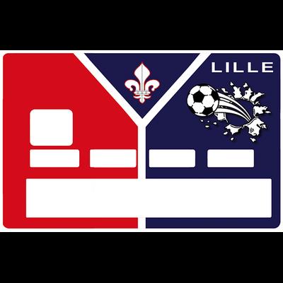 Sticker pour carte bancaire, Football, Lille