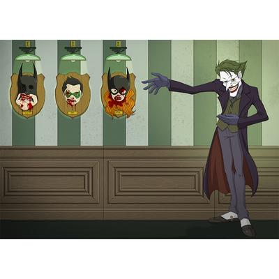 Joker Win de Damien Garvagno, 50 cm x 70 cm