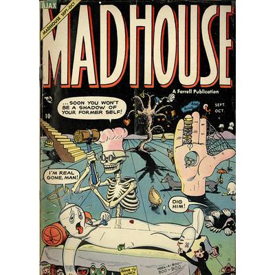 Impression photo sur toile, Mad House, 50 cm x 70 cm