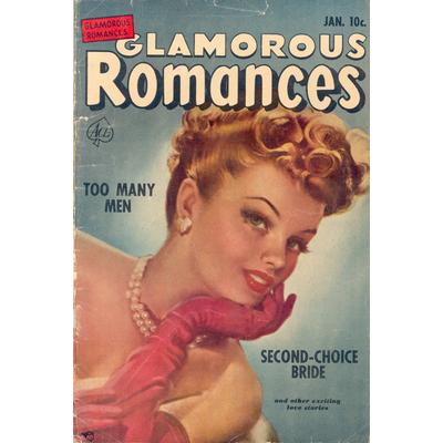 Impression photo sur toile, GLAMOUROUS ROMANCE, 40 cm x 60 cm