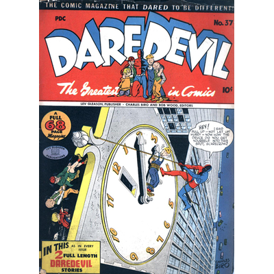 DAREDEVIL, 50 cm x 70 cm