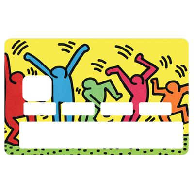 Stickers décoratif pour carte bancaire, Rave Party