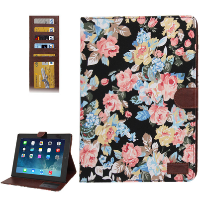 Housse de protection, ROTATIVE, pour IPAD  2 ou 3 , Rose Denim black