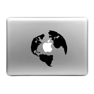Sticker pour MacBook ou Ipad, la terre