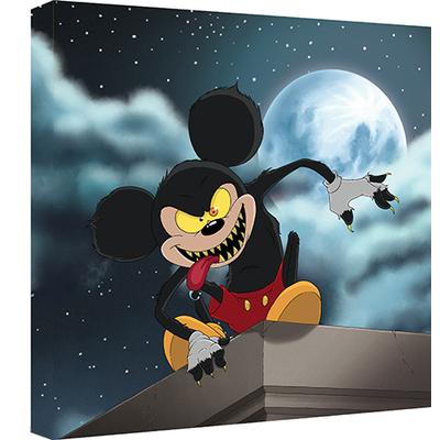 Impression sur toile, 50 cm x 50 cm, Mickey Garou