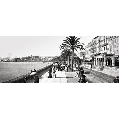 Cannes, la croisette vers 1905