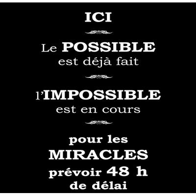 l'impossible, 30 cm x 30 cm