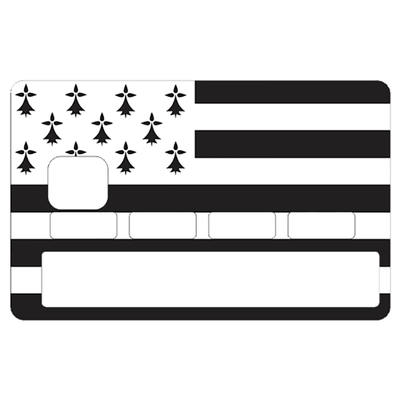 Sticker pour carte bancaire, Bretagne