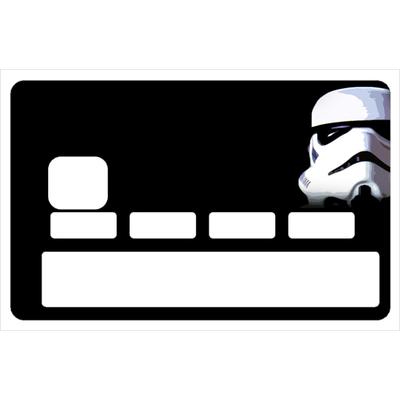Stickers décoratif pour carte bancaire, Stars Trooper
