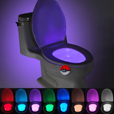 Lampe de Toilette, WC, LED Veilleuse MULTICOLOR
