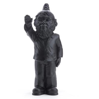 Statuette, le Nain Empoisonne, de Ottmar Hörl NOIR