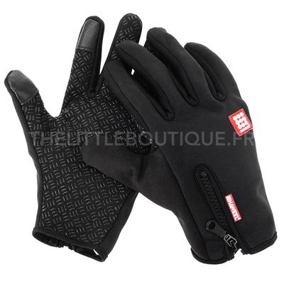 Gants Waterproof pour les sports de plein air, avec sensitive touch