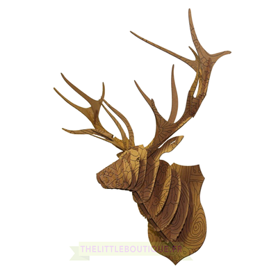 CERF-floral-animatomy-trophée-3D-the-little-boutique
