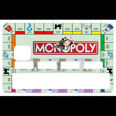 Stickers décoratif pour carte bancaire, Monopoly, Serie limitée 300 ex
