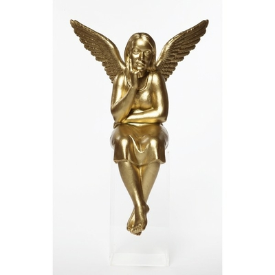 Statuette en résine, L'ange gardien de Ottmar Hörl