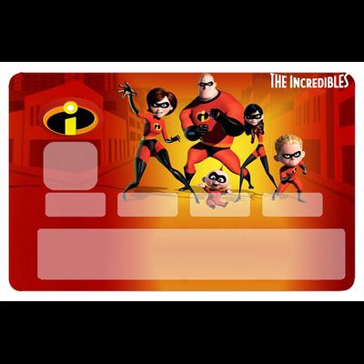 Stickers décoratif pour carte bancaire, Les Indestructibles