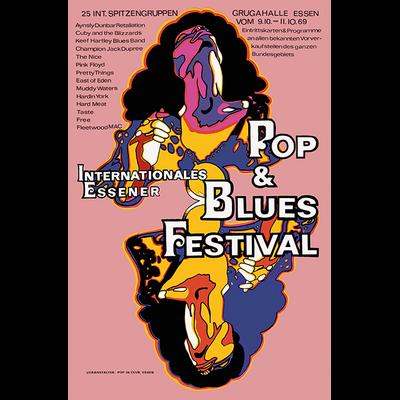 Festival ESSENER 1969, Impression photo HD sur plexiglas