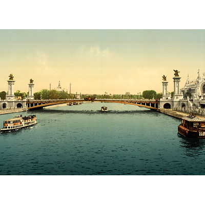 Paris, expo universelle 1900, Dimensions: 50 cm x 70 cm