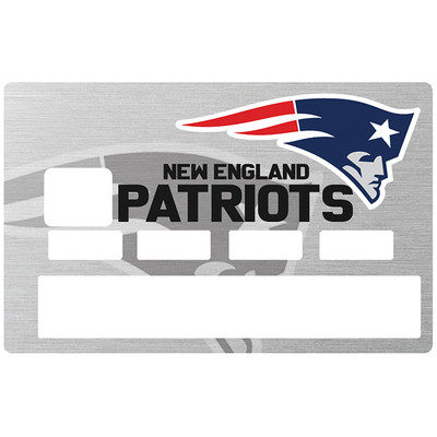 Sticker pour carte bancaire, Tribute to New England PATRIOTS