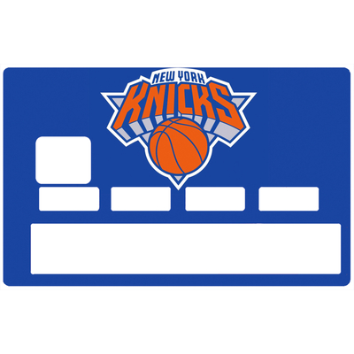 Sticker pour carte bancaire, Tribute to New York Knicks