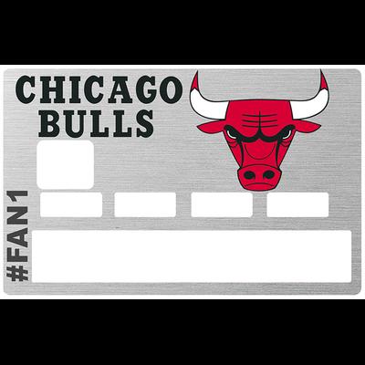 Sticker pour carte bancaire, Chicago Bulls