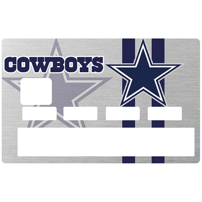 Sticker pour carte bancaire, Tribute to Dallas Cowboy, America's Team