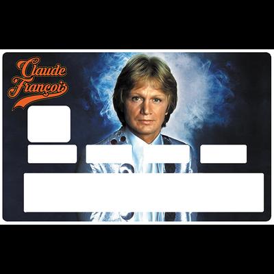 Sticker pour carte bancaire, Hommage à Claude François, édition ultra limitée 100 ex.