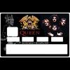 Sticker pour carte bancaire, QUEEN bohemian Raphsody