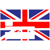 Union Jack, Sticker pour carte bancaire type ELECTRON
